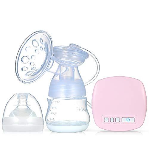 Decdeal Elektrische Milchpumpe Einzelnes Brustpumpe Wenig Lärm Anti Rückfluss Muttermilch Abpumpen BPA Frei...
