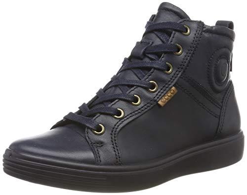 ECCO S7 Teen Hohe Sneaker, Blau (Night Sky 1303), 38 EU