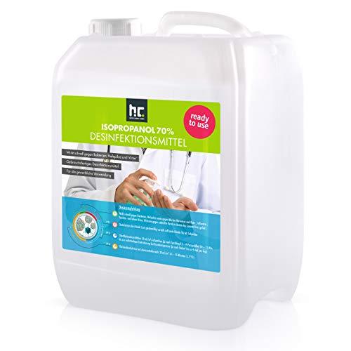 5 L Zugelassenes Desinfektionsmittel für Hände & Flächen - anwendungsfertig - auch geeignet für...