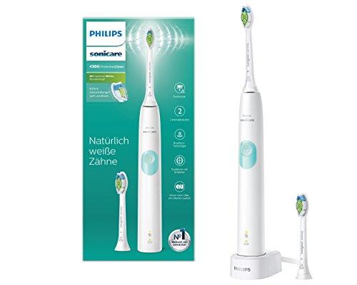 Philips Sonicare ProtectiveClean 4300 elektrische Zahnbürste HX6807/51 – Schallzahnbürste mit...