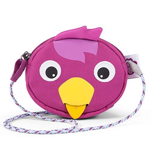 Affenzahn Portmonee für 1-5 Jährige im Kindergarten - Vogel - Lila