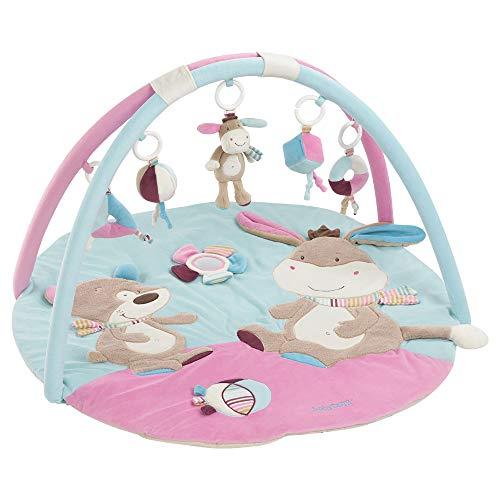 Fehn 081657 3-D-Activity-Decke Esel / Spielbogen mit 5 abnehmbaren Spielzeugen für Babys Spiel & Spaß von...