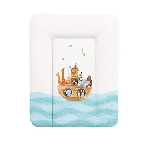 Wickelauflage Wickelunterlage Wickeltischauflage 70x50 cm Abwaschbar für Mädchen und Junge - Arka 70x50