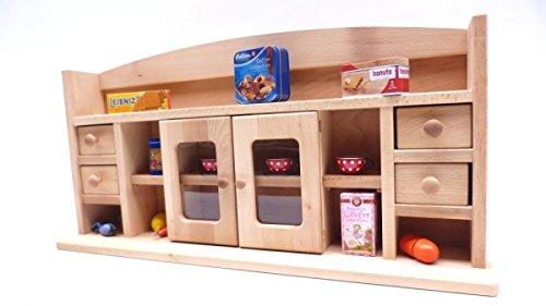 Kinder-Kaufmannsladen 1031G - Holz - Kaufladen für Tisch oder Spielständer