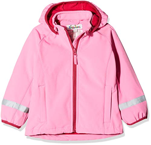 Playshoes Baby Mädchen Softshell-jacke Jacke, Rosa (Pink 18), 80 EU