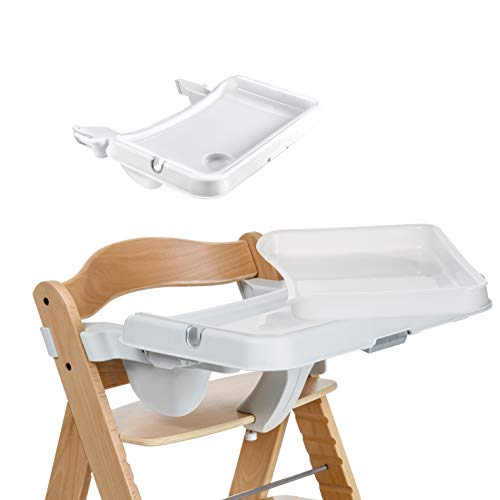 Hauck Alpha Tray, Essbrett mit herausnehmbarem Tablett, kompatibel mit Alpha +, pflegeleicht, leichte Montage,...