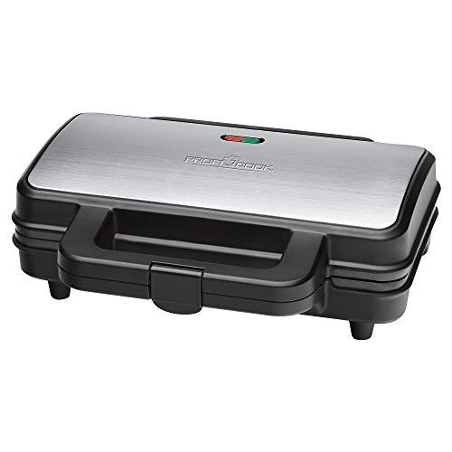 ProfiCook PC-ST 1092 Sandwichtoaster, extra große Sandwichplatten für amerikanische XXL-Toastscheiben,...