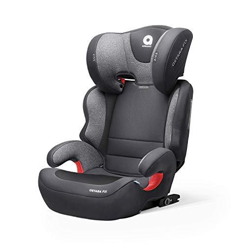 APRAMO Ostara Fix Kindersitz mitwachsender Gruppe 2/3 (15-36 kg) Autositz mit und ohne isofix Kinderautositz...