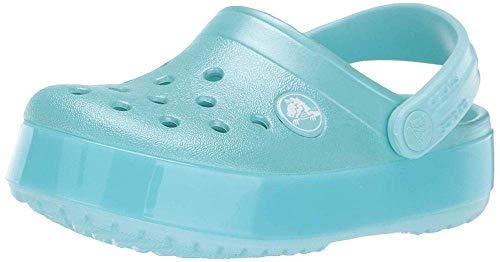 Crocs Unisex-Kinder Crocband Pop K Clogs, Blau (Ice Blue 4o9), 33/34 EU