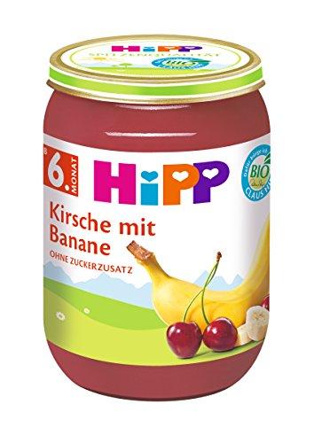 HiPP Kirsche mit Banane, 6er Pack (6 x 190 g)