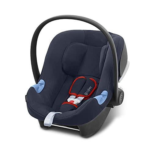 CYBEX Silver Babyschale Aton B i-Size, Inkl. Neugeboreneneinlage, Ab Geburt bis ca. 24 Monate, 45 bis 87 cm,...
