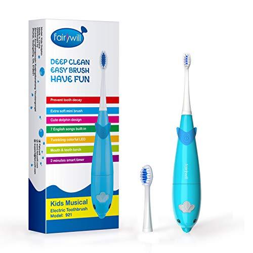 Fairywill: Elektrische Zahnbürste für Kinder