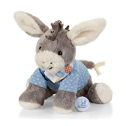 Sterntaler 6012000 Baby Spieluhr M Esel Emmi grau - aus über 100 Melodien ein Spielwerk wählen (* Mozarts...