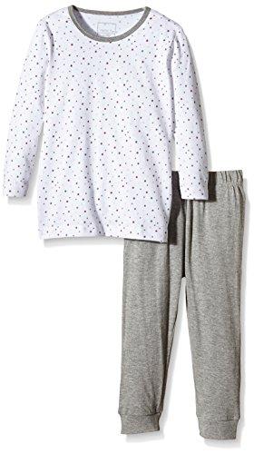 NAME IT Baby-Mädchen NITNIGHTSET M G NOOS Zweiteiliger Schlafanzug, Mehrfarbig (Bright White), 98