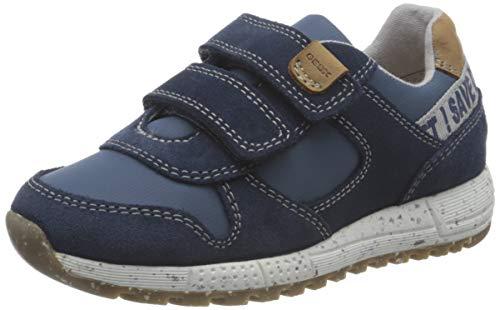 Geox Baby-Jungen B ALBEN Boy B Sneaker, Navy/AVIO, 24 EU