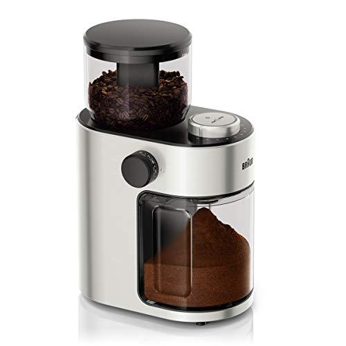 Braun FreshSet KG7070 Kaffeemühle | French Press, Filterkaffee, Espresso | 15 Mahlgrad-Einstellungen | 2-12...