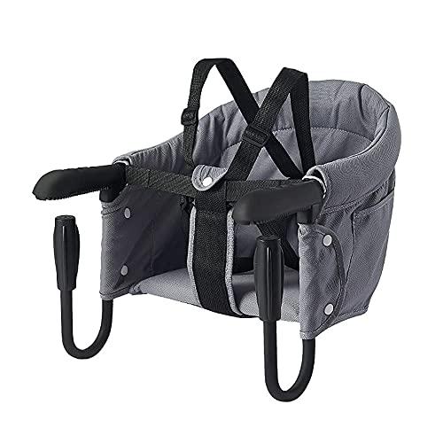 Babystuhl,Faltbarer Babysitz Hochstuhl für Esstisch Stuhl Sitz zum Befestigen am Tisch BabyTischsitz mit...