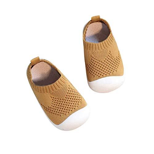 DEBAIJIA Lauflernschuhe Babyschuhe 1-4 Jahre Kinder Schuhe Kleinkind Jungen Mädchen Weiche Sohle rutschfeste...