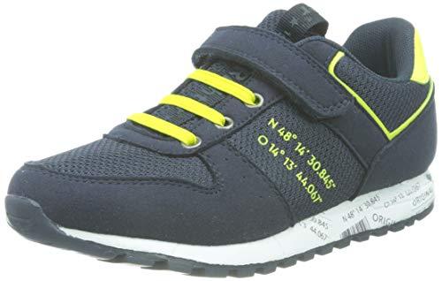 Richter Kinderschuhe Junior 2 Straßen-Laufschuh, Atlantic/neon Yellow, 31 EU