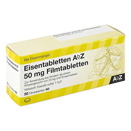 EISENTABLETTEN AbZ 50 mg Filmtabletten 50 St