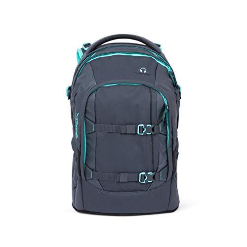 Satch pack Schulrucksack - ergonomisch, 30 Liter, Organisationstalent - Mint Phantom - Grau