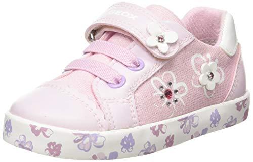 Geox Baby-Mädchen B Kilwi Girl F Sneaker, PINK, 24 EU