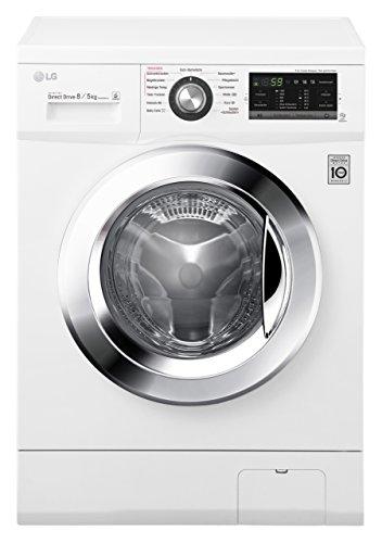 LG Electronics F 14G6 TDM2NH Waschtrockner / A /1088 kWh/Jahr / 1400 UpM / 8 kg / 11200 L/jahr / weiß /...