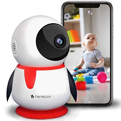 2020 Twingsy Wunderschöne Überwachungskamera für Baby und Haus | Full-HD WLAN IP 1080p Babyphone mit Kamera...