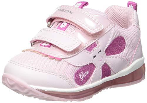 Geox Baby-Mädchen B TODO Girl A Sneaker, PINK, 26 EU