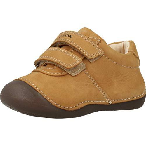 Geox Baby-Jungen B TUTIM A First Walker Shoe, Beige, 23 EU