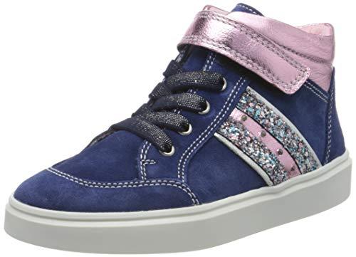 Richter Kinderschuhe Mädchen Flora Hohe Sneaker, Blau (Nautical/Candy/Silve 6821), 29 EU