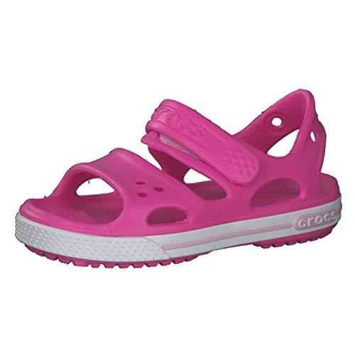 Crocs Unisex Baby Crocband II Sandal, Electric Pink, 23 EU