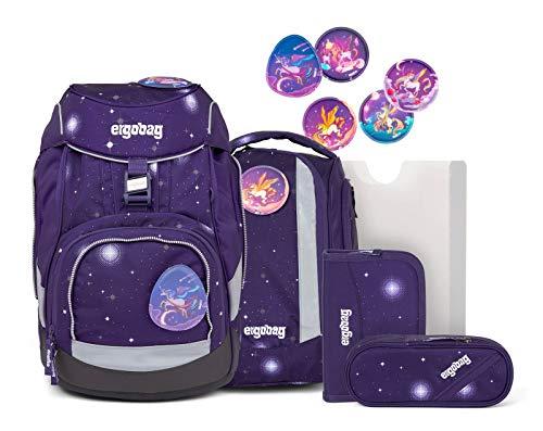 ergobag pack Set - ergonomischer Schulrucksack, Set 6-teilig