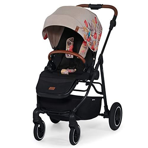 kk Kinderkraft Kinderwagen ALLROAD Sportwagen Kinderbuggy Liegebuggy Zusammenklappen Liegeposition mit UPF 50+...