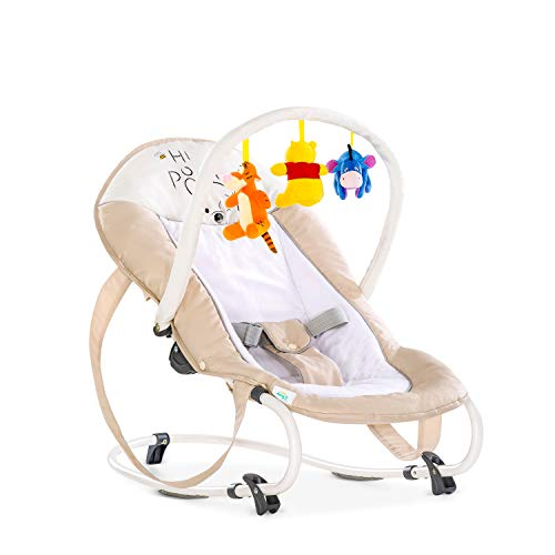 Hauck / Disney Babywippe Bungee Deluxe / Schaukelfunktion / Spielbogen / verstellbarer Rückenlehne und...