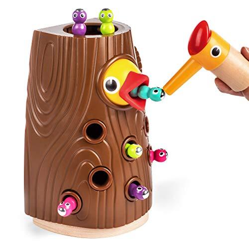 TOP BRIGHT Lernspielzeug ab 2 Jahren Jungen und Mädchen Geschenke, Feinmotorik Spiele Montessori Spielzeug,...