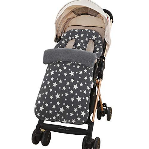Winter 3 in 1 Kinderwagen Schlafsack Fußsack Winddicht Stuhlkissen Baby Mädchen Jungen warm Einschlagdecke...