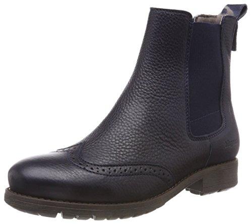 Bisgaard Mädchen 51003218 Chelsea Boots, Blau (608 Navy), 26 EU