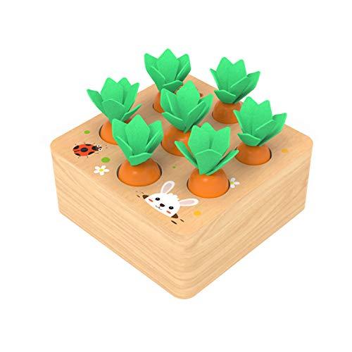 YGJT Montessori Spielzeug ab 1 Jahr   Kinder Motirikspielzeug für 12 Monate Jungen und Mädchen   Baby...