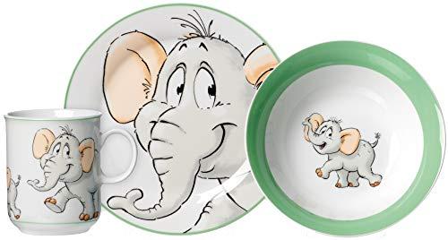 Ritzenhoff & Breker Kindergeschirr-Set Happy Zoo, Eddie, 3-teilig