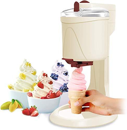CWCCGGG Eismaschine Mit Kompressor Softeismaschine Für Zuhause Ice Cream Machine 1L Aluminiumfolie in...