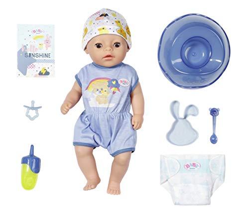 BABY born Soft Touch Little Boy 36cm Puppe - Leicht für Kleine Hände, Kreatives Spiel fördert Empathie &...
