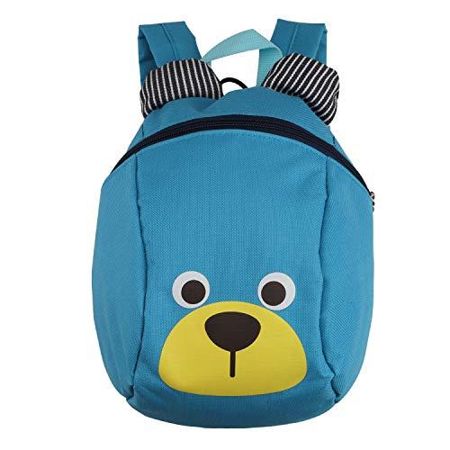 Kinderrucksack TEAMEN® Anti verloren Kinder Rucksack Mini Bär Schule Tasche für Baby Jungen Mädchen...