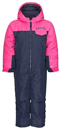 icefeld Schneeoverall/Skianzug pink in Größe 110/116