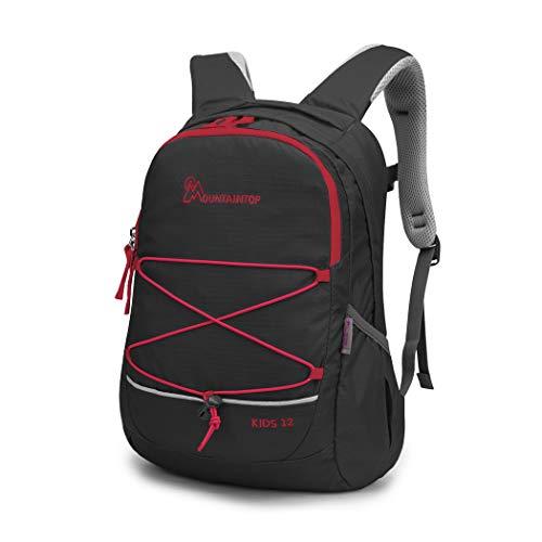 MOUNTAINTOP Kinderrucksack Kleiner Tagesrucksack Schulrucksack Kindertasche für Mädchen Jungen, 29 x 15 x...