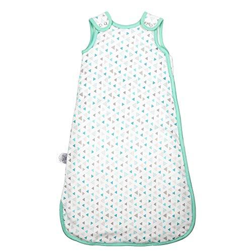 Adorfine Babyschlafsack Ganzjahresschlafsack aus atmungsaktiv Baumwolle Größe 70, 2.5 Tog Schlafsack...