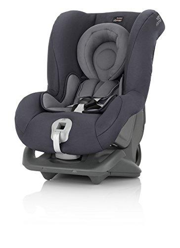 Britax Römer Reboarder Kindersitz 0 - 4 Jahre | 0 - 18 kg | First Class Plus Autositz Gruppe 0+/1 | Storm...