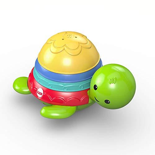 Fisher-Price DHW16 - Badespaß Schildkröte, Badespielzeug für Babys ab 6 Monate