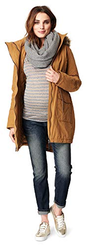 Noppies Umstandsmode Damen Umstandsjacke Winter Malin 2-Way