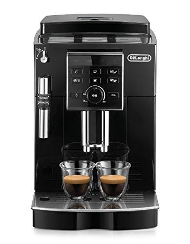 De'Longhi ECAM 25.120.B Kaffeevollautomat mit Profi-Milchaufschäumdüse für Cappuccino, mit Espresso- und...